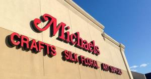 A Michaels store.