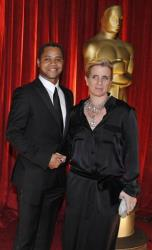 In this Feb. 22, 2009 file photo, Cuba Gooding Jr. and wife Sara arrive at the 81st Academy Awards, in the Hollywood section of Los Angeles.