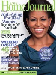 The cover of the magazine's issue featuring Michelle Obama.