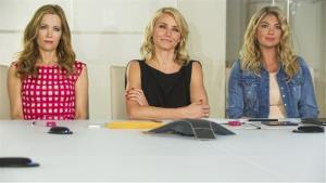 This image released by 20th Century Fox shows Leslie Mann, from left, Cameron Diaz and Kate Upton in a scene from The Other Woman.