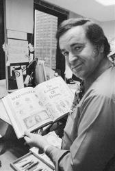 In this 1972 file photo, 'Mad' magazine editor Al Feldstein works on page layout in his office at the magazine's New York headquarters.