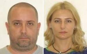 Radu and Diana Nemes are seen in these photos provided by Interpol.
