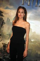 Actress Angelina Jolie poses during a photocall for the film Maleficent (Malefique) in Paris, Tuesday, May 6, 2014.