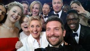 The Oscars group selfie.