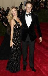 Gisele Bundchen and Tom Brady attend The Metropolitan Museum of Art's Costume Institute benefit gala celebrating Charles James: Beyond Fashion on Monday, May 5, 2014, in New York.