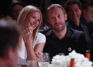 Gwyneth Paltrow and Chris Martin are seen in January of this year, before they announced their split.