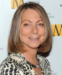 The New York Times managing editor Jill Abramson attends the 2010 Matrix Awards presented by the New York Women in Communications at the Waldorf-Astoria Hotel in this Monday, April 19, 2010  file photo in New York.