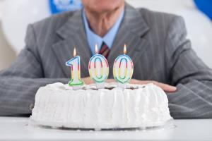 Being 100 years old is generally a positive experience, a study says.