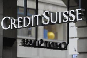 In this Oct. 31 2011 file picture the logo of Swiss bank Credit Suisse is photographed in Zurich, Switzerland.