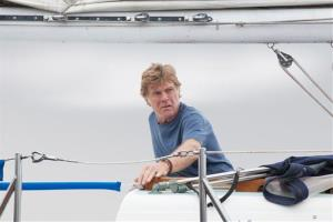 This photo released by Roadside Attractions shows Robert Redford starring in JC Chandor's All Is Lost.