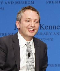 This May 2013 photo shows Harvard Law Professor David Barron during a forum at the John F. Kennedy Library in Boston.