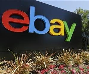 The eBay sign is seen at eBay headquarters in San Jose, Calif.