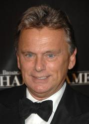 Game show host Pat Sajak arrive at the 17th annual Broacasting and Cable Hall of Fame awards dinner at Cipriani's 42nd street, Monday, Oct. 22, 2007 in New York.
