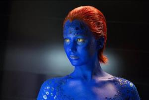 This image released by 20th Century Fox shows Jennifer Lawrence in X-Men: Days of Future Past.
