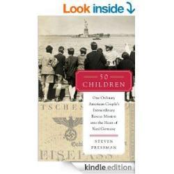 The cover of Steven Pressman's book, '50 Children.'