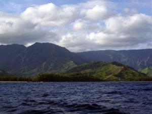 This Oct. 3, 2011 photo shows the coast of Kauai, Hawaii, where some of the crickets in question live.