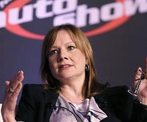 Mary Barra, CEO of General Motors, speaks at the 2014 Automotive Forum, April 15, 2014 in New York.