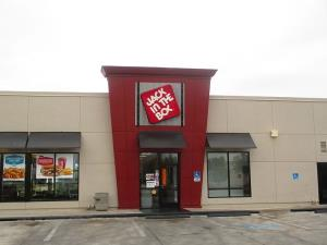 A Jack in the Box restaurant.