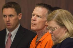 Troy James Knapp listens as he is addressed by Judge Eric A. Ludlow during a sentencing hearing at the Fifth District Court Monday, June 9, 2014, in St. George, Utah.