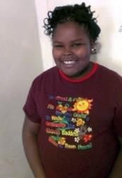 Jahi McMath, in a family photo before her surgery.