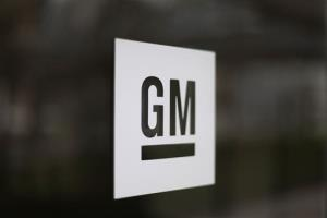 This Friday, May 16 2014 photo shows the General Motors logo at the company's world headquarters in Detroit.