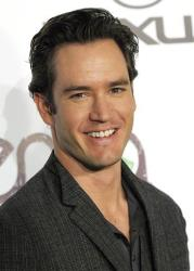 "In this Oct. 16, 2010 file photo, actor Mark-Paul Gosselaar arrives at the Environmental Media Awards at Warner Bros. Studios in Burbank, Calif. Gosselaar stars in the TNT comedy ""Franklin & Bash."""