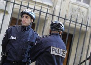Police officers in France.