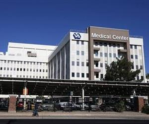 This April 28, 2014 file photos shows the Phoenix VA Health Care Center in Phoenix.