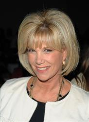 In this Sept. 12, 2008 file photo, Joan Lunden attends the Badgley Mischka 2009 spring collection in Bryant Park during fashion week in New York.