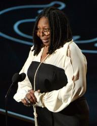 Whoopi Goldberg speaks during the Oscars at the Dolby Theatre on Sunday, March 2, 2014, in Los Angeles.