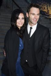 Courteney Cox and Johnny McDaid attend the Tribeca Film Festival Vanity Fair party on Wednesday, April 23, 2014, in New York.