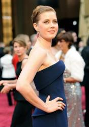 Amy Adams arrives at the Oscars on March 2, 2014, at the Dolby Theatre in Los Angeles.
