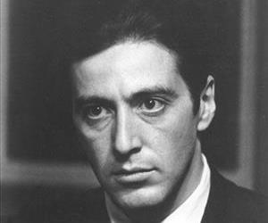 Al Pacino is seen as Michael Corleone in a scene from The Godfather.