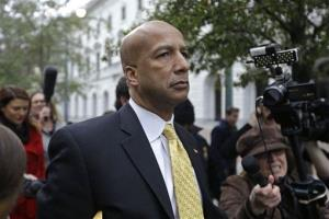 In this Wednesday, Feb. 12, 2014 photo, former New Orleans Mayor Ray Nagin leaves federal court after his conviction in New Orleans.