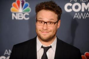 Seth Rogen attends the American Comedy Awards at the Hammerstein Ballroom on April 26 in New York.