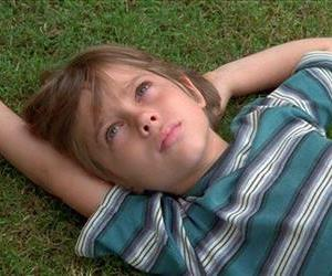 This image released by IFC Films shows Ellar Coltrane at age six in a scene from the film,Boyhood.