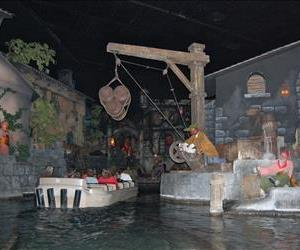 The Pirates of the Caribbean ride is seen in this file photo.