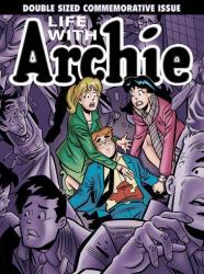 This photo provided by Archie Comics shows the cover of the comic book, Life with Archie, issue 36. MORE SPOILER-Y PICTURES FOLLOW.