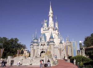 This Jan. 26, 2006, file photo shows Cinderella's Castle at Walt Disney World's Magic Kingdom in Lake Buena Vista, Fla.