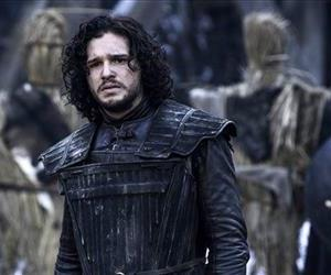This image released by HBO shows Kit Harington in a scene from Game of Thrones.