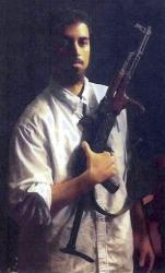 This section of an undated file photo provided by the US Attorney's Office, which had been presented as a government exhibit at a 2011 hearing, shows Rezwan Ferdaus of Ashland, Mass.
