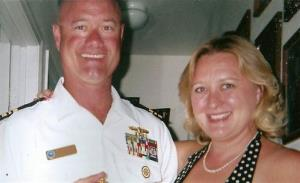 In this undated family photo provided by Greg Regelbrugge, John Regelbrugge III and his wife Kris Regelbrugge are shown.