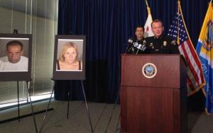 Long Beach Police Chief Jim McDonnell leads a news conference on July 24, 2014, in Long Beach, Calif.