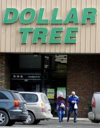 A Dollar Tree Store in Barre, Vt., is seen Monday, Feb. 8, 2010.