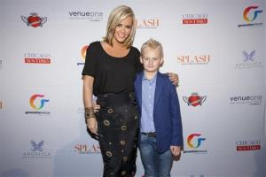 Jenny McCarthy, seen here with her son, Evan, hosted the 7th Annual Rescue Our Angels fundraiser for Generation Rescue at VenueOne on May 9, 2014, in Chicago.