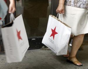 Consumers helped boost the economy this spring.