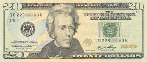 Andrew Jackson's time on the $20 may be drawing to a close.