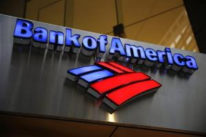 In this Jan. 14, 2014, file photo, a Bank of America sign is seen in Philadelphia.