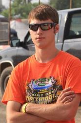 This photo provided by Empire Super Sprints shows sprint car driver Kevin Ward.