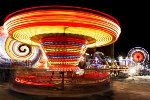 A British woman claims a carnival ride similar to this one caused her to feel permanently dizzy.